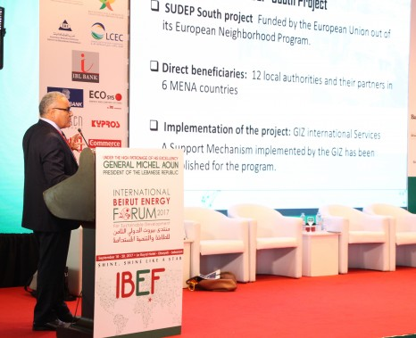 SUDEP South successful stories at the Beirut Energy Forum
