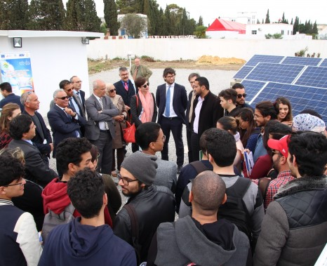 Nabeul showcases savings of 50 % of energy consumption in a technical visit of the SUDEP South project