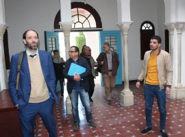 EUDEL representatives visit Chefchaouen at the closure of SUDEP South project