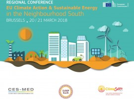 SUDEP South present at the Regional Conference on EU for Climate Action & Sustainable Energy in the Neighbourhood South